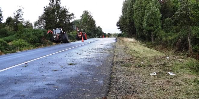 Rutas de Dalcahue reciben importantes mejoras viales