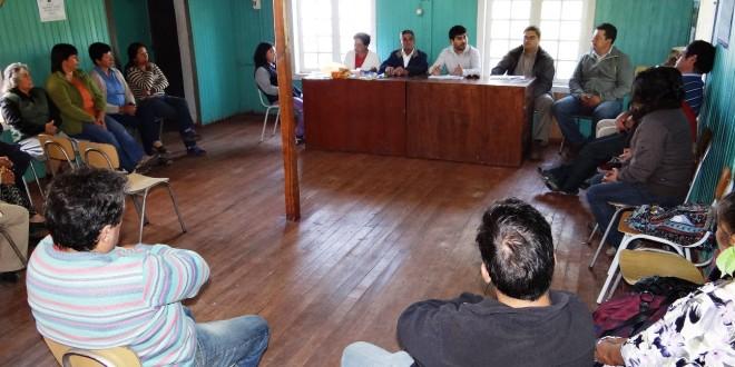 Exitosa reunión entre vecinos de Calen y municipio local