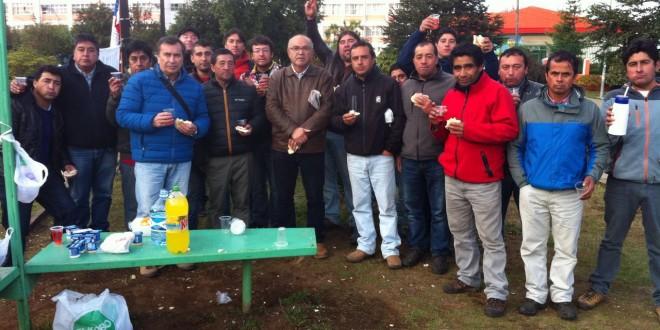 Alcalde de la Comuna acompañó a sindicato de buzos a Intendencia Regional