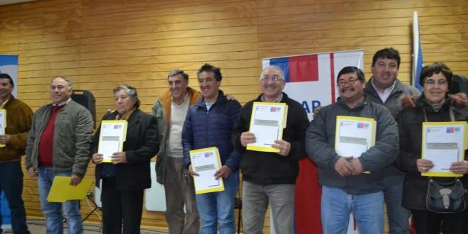 INDAP FORTALECE A FAMILIAS RURALES DE DALCAHUE
