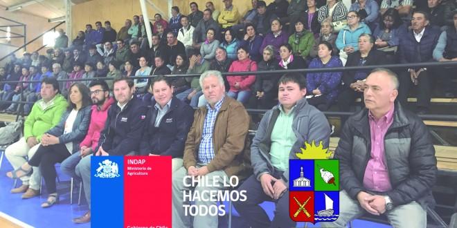 INDAP ENTREGA RECURSOS PARA PRADERAS SUPLEMENTARIAS
