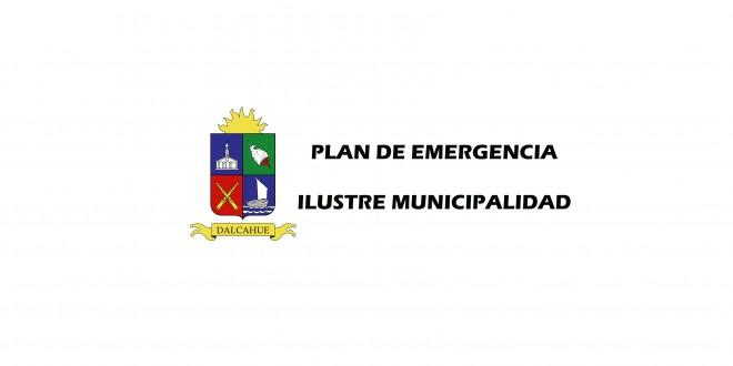 PLAN DE EMERGENCIA MUNICIPALIDAD