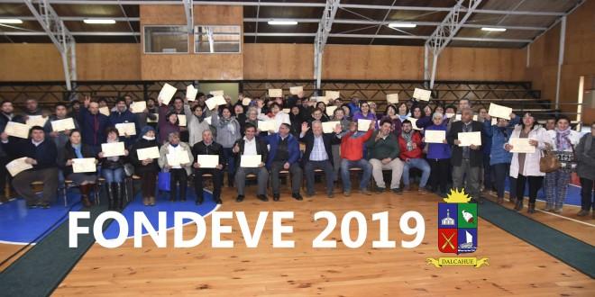 72 AGRUPACIONES DE LA COMUNA SON BENEFICIADAS CON FONDEVE 2019