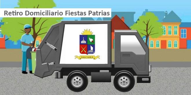 Retiros Domiciliarios Fiestas Patrias