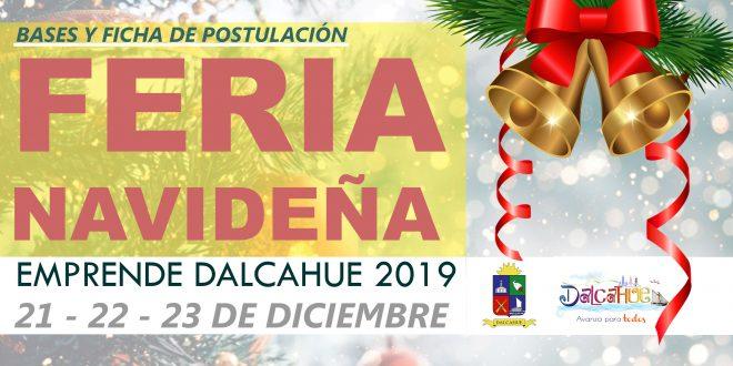 POSTULACIONES ABIERTAS EMPRENDE DALCAHUE 2019 FERIA NAVIDEÑA