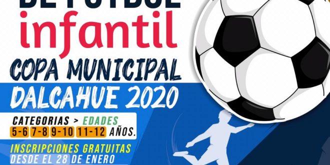 BASES CAMPEONATO DE FÚTBOL INFANTIL COPA MUNICIPAL DALCAHUE 2020