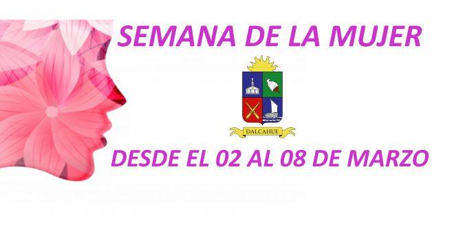 El municipio invita a participar a las actividades de la semana de la mujer Del 02 al 08 de marzo.