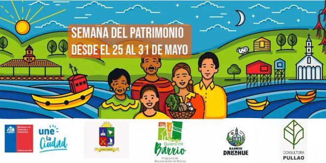 PARTICIPA DE LA SEMANA DEL PATRIMONIO DESDE CASA.