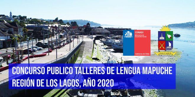 CONCURSO PUBLICO TALLERES DE LENGUA MAPUCHE REGIÓN DE LOS LAGOS, AÑO 2020