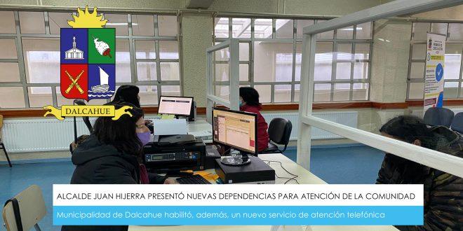 ALCALDE JUAN HIJERRA PRESENTÓ NUEVAS DEPENDENCIAS PARA ATENCIÓN DE LA COMUNIDAD