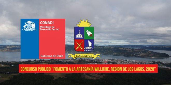CONCURSO PÚBLICO «Fomento a la Artesanía Williche, Región de Los Lagos, 2020»