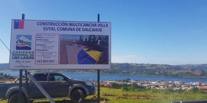 En 18 de septiembre y Villa suyai se están desarrollando importantes obras en beneficio de todos los vecinos