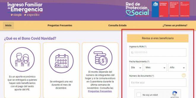 FECHA DE POSTULACIÓN PAGOS IFE DESDE EL 8 AL 18 de febrero