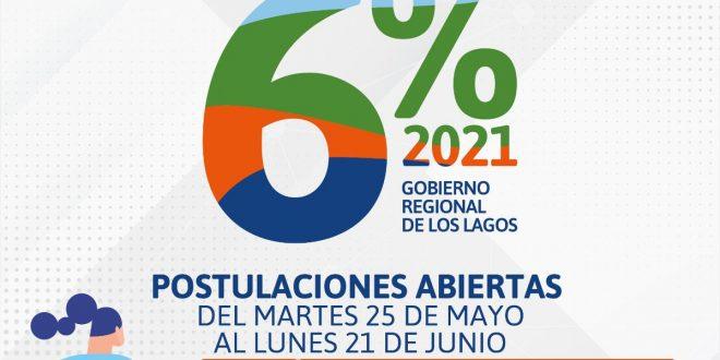 Lanzan fondo 6% FDNR del Gobierno Regional que financia proyectos de organizaciones de la región